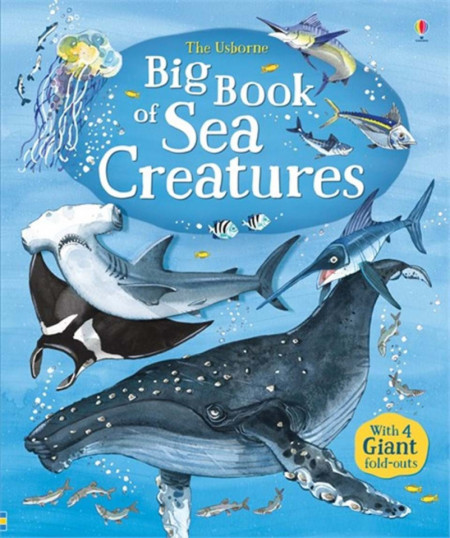 Big book of sea creatures, Usborne