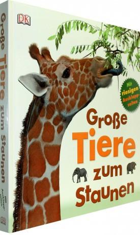Carte in limba germana, cu animale uriase, Große Tiere zum Staunen, 4+, dK