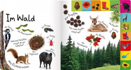 Carte in limba germana, primele cuvinte, Erstes Lernen : In der natur, DK, 12+