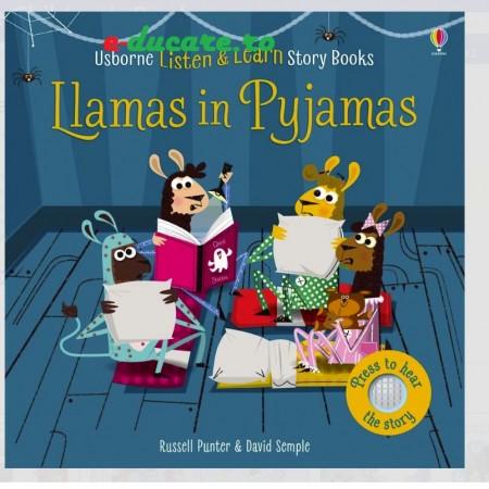 Carte sonora, listen and learn Llamas in pyjamas, Usborne