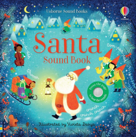 Carte sonora, Santa Sound Book, usborne