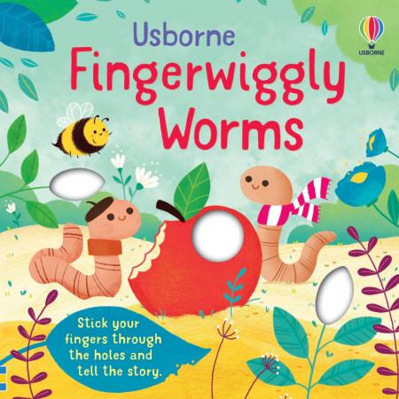 Fingerwiggly Worms, Felicity Brooks, Usborne