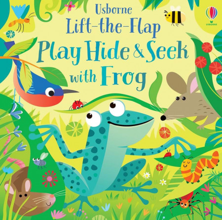 Play Hide and Seek with Frog, Usborne, 2+