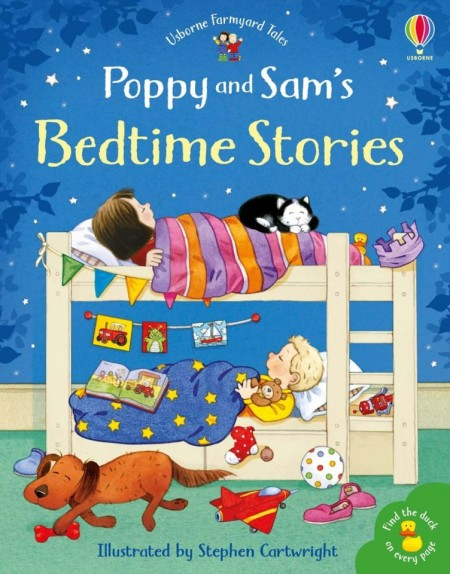 Poppy and Sam's bedtime stories and find the duck