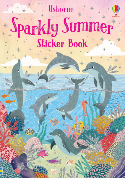 Sparkly Sticker Book Summer, Usborne