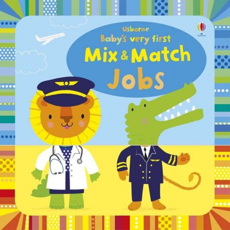 Baby's very first mix and match jobs, usborne