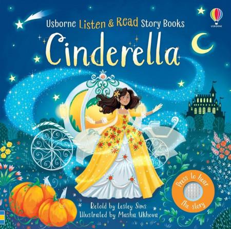 Carte asculta si citeste, listen and read, Cinderella, usborne