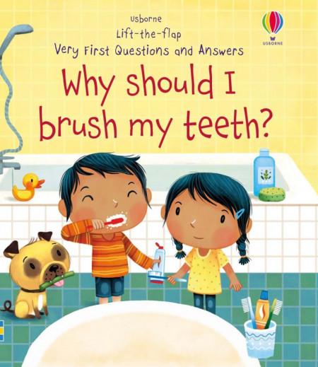 Carte cu multe clapete pentru copii curiosi, Why Should I Brush My Teeth?