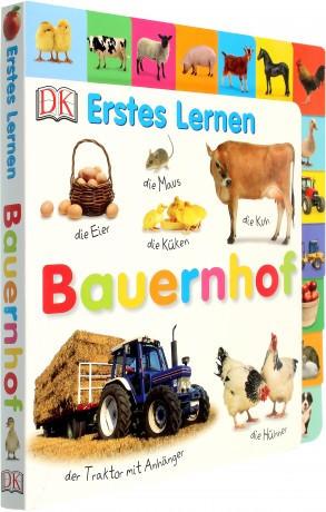 Carte in limba germana, primele cuvinte, Erstes Lernen : Bauernhof, DK, 12+