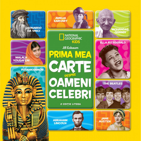 Carte National Geographic, Prima mea carte despre oameni celebri