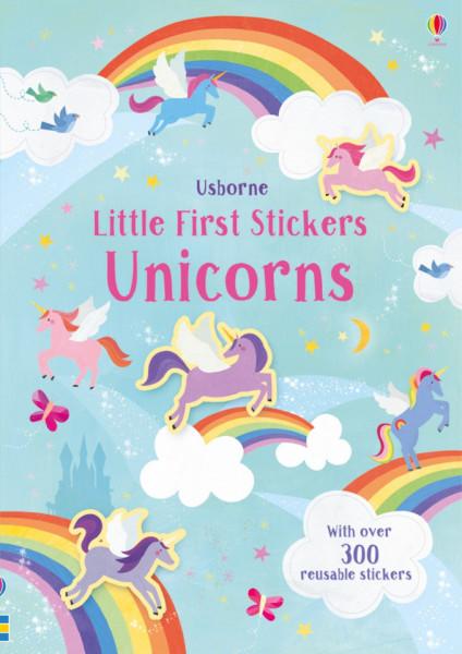 Little First Stickers Unicorns, Usborne, 3+
