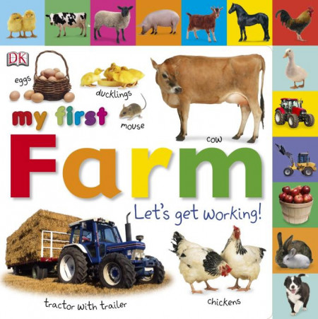 My First Farm Let's Get Working, DK