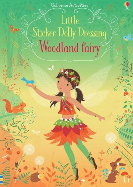 Woodland fairy little sticker dolly dressing