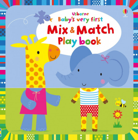 Baby's Very First Mix and Match Play Book