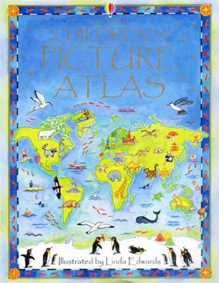 Children's picture atlas, Usborne