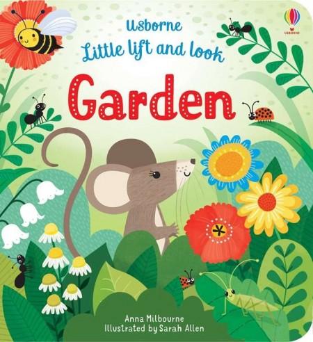 Little lift and look, garden, usborne