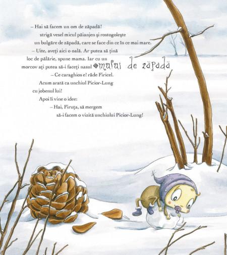 Micul Paianjen Firicel. Ce minunata este iarna!