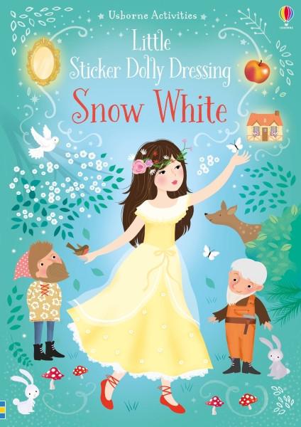Snow white little sticker dolly dressing, usborne