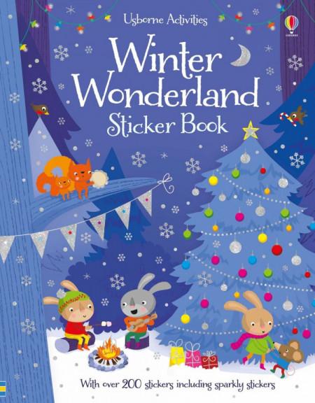 Winter wonderland sticker book, Usborne