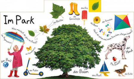 Carte in limba germana, primele cuvinte, Erstes Lernen : In der stadt, DK, 12+