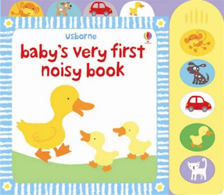 Carte sonora Baby's very first noisy book