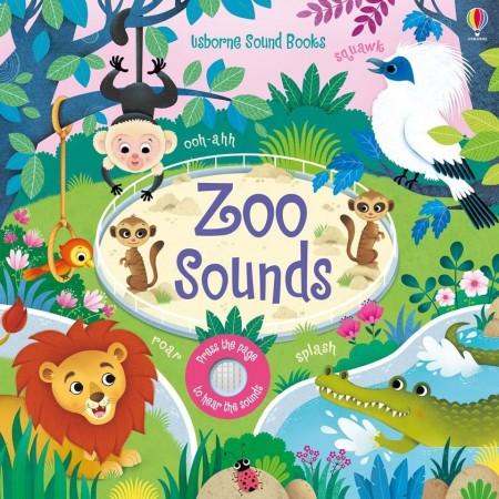 Carte sonora, Zoo sounds cu sunetele animalelor de la zoo, Usborne