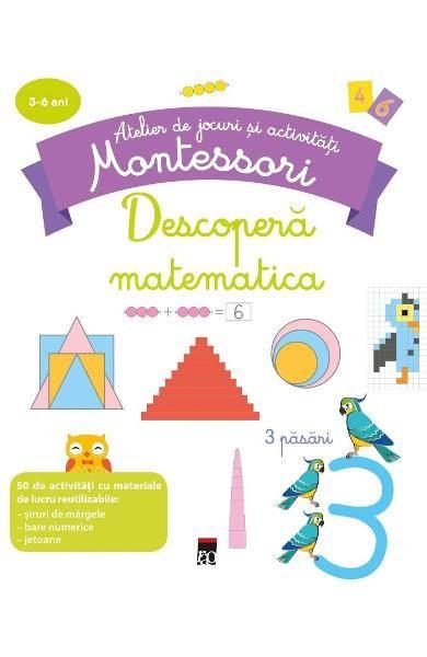 Descoperă matematica - Atelier de jocuri și activități montessori