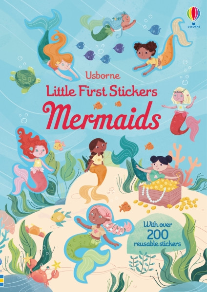Mermaids little first sticker dressing, usborne