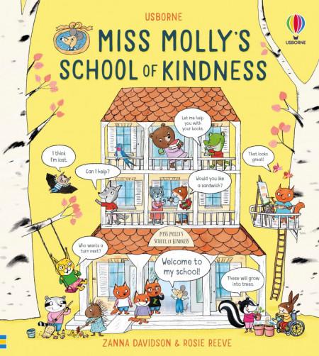 Miss Molly's School of Kindness, Usborne, 3+