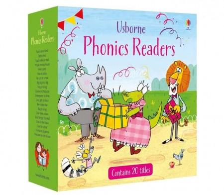 Phonics readers set de 20 cărți de povesti pentru copii, usborne