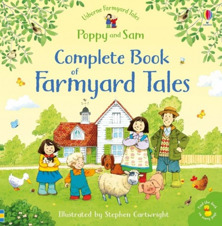 The complete book of Farmyard Tales and find the duck