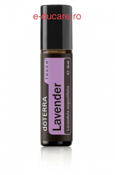 Ulei esential lavanda, roll-on, lavander touch, 10ml, doterra
