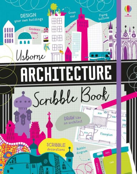 Architecture Scribble Book, usborne, 7+