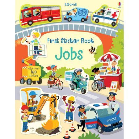 """Carte de activitati """"Jobs"""" , 3 ani+, Usborne"""
