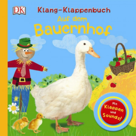 Carte in limba germana, cu sunete si clapete, Klang-Klappenbuch, Auf dem Bauernhof, dK