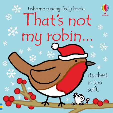 Carte senzoriala, touchy feely, That's not my robin, usborne