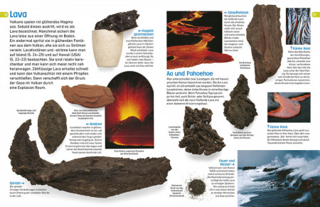 Descoperiti vulcanii, memo Wissen entdecken, Vulkane, dk 8+