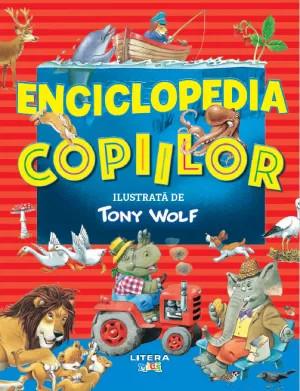 Enciclopedia copiilor ilustrata de Tony Wolf