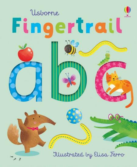Fingertrail ABC, carte senzorială, usborne