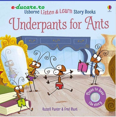 Listen and learn story book, Underpants for ants, Usborne
