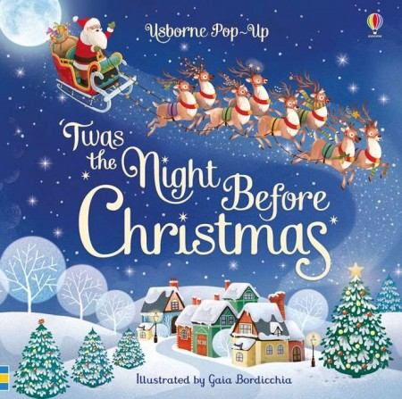 Pop-up 'Twas the Night Before Christmas, usborne
