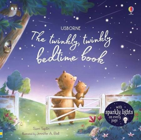 The twinkly twinkly bedtime book, carte cu leduri usborne