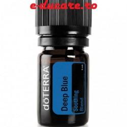 Blend din uleiuri esentiale deep Blue doTERRA, folosit si de catre sportivii de performanta, 5 ml, Doterra
