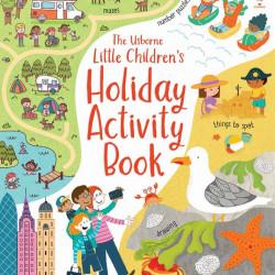 Carte de activități pentru copii, Little Children's Holiday Activity Book