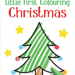 Carte de colorat, Little First Colouring Christmas, Usborne
