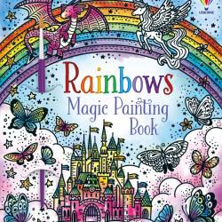 Carte de pictat doar cu apa, Rainbows Magic Painting Book