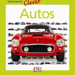 Carte in limba germana cu masini, memo Clever. Autos, DK, 8+