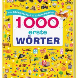 Carte in limba germana, primele 1000 de cuvinte, 1000 erste Wörter, dk, 3+