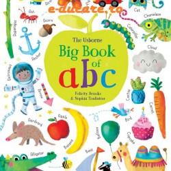 Carte pentru copii in limba engleza, Big book of ABC, usborne