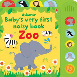 Carte sonora Baby's very first noisy book zoo